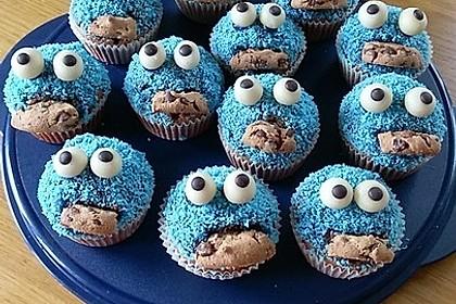Krümelmonster Cupcakes 63