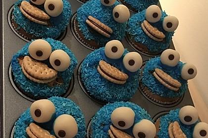 Krümelmonster Cupcakes 145