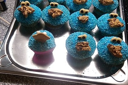Krümelmonster Cupcakes 210
