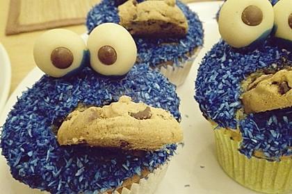 Krümelmonster Cupcakes 144