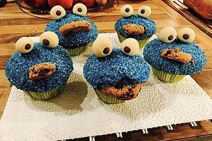 Krümelmonster Cupcakes 118