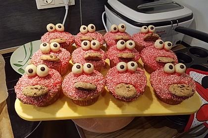 Krümelmonster Cupcakes 37