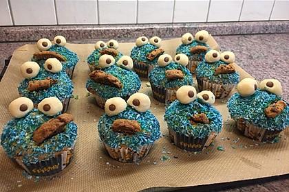 Krümelmonster Cupcakes 163