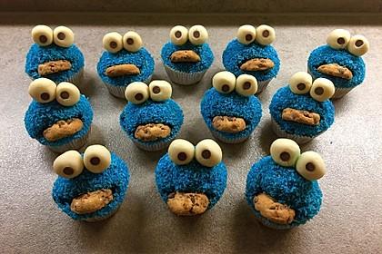 Krümelmonster Cupcakes 13
