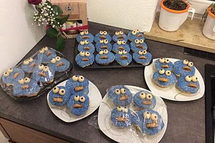 Krümelmonster Cupcakes 152