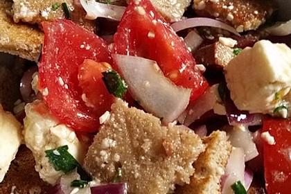Tomaten-Brot-Salat 2