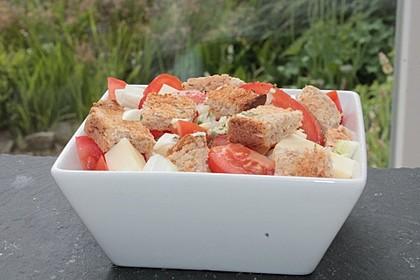 Tomaten-Brot-Salat 3