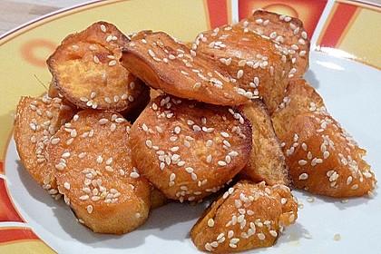 Süßkartoffelspalten aus dem Ofen 1