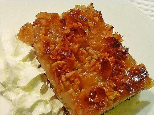 saftiger apfelkuchen mit mandel butterkruste rezept mit bild. Black Bedroom Furniture Sets. Home Design Ideas