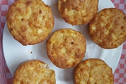 Apfelmuffins Low carb 10