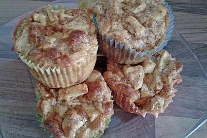 Apfelmuffins Low carb 9