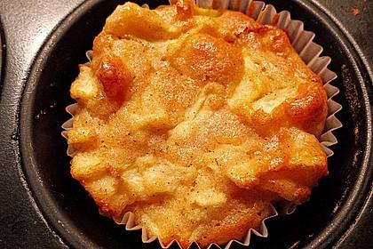Apfelmuffins Low carb 4