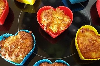Apfelmuffins Low carb 1