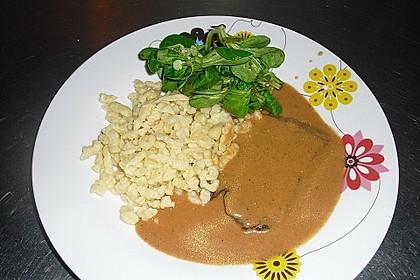 Omis Rinderbraten mit Rotweinsoße 7