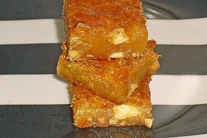 Crunchige Honig-Blondies mit Salzmandeln 1