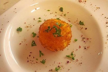 Onsen-Ei auf Spinat-Risotto 1