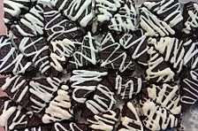 Mini-(Weihnachts)brownies