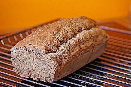 Glutenfreies, hefefreies Brot