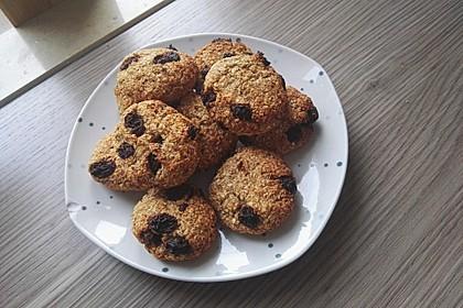 Haferflocken-Bananen Cookies 2