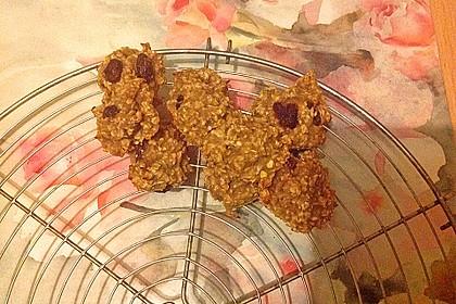 Haferflocken-Bananen Cookies 7