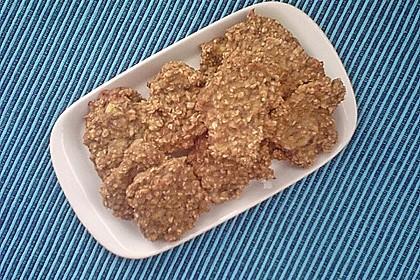 Haferflocken-Bananen Cookies 6