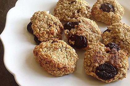 Haferflocken-Bananen Cookies