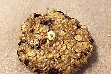 Haferflocken-Bananen Cookies 1