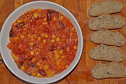 Claudios veganes Chili sin carne 1