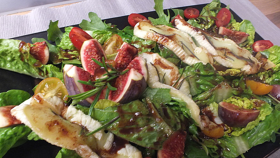 Vorspeisen salat zu weihnachten