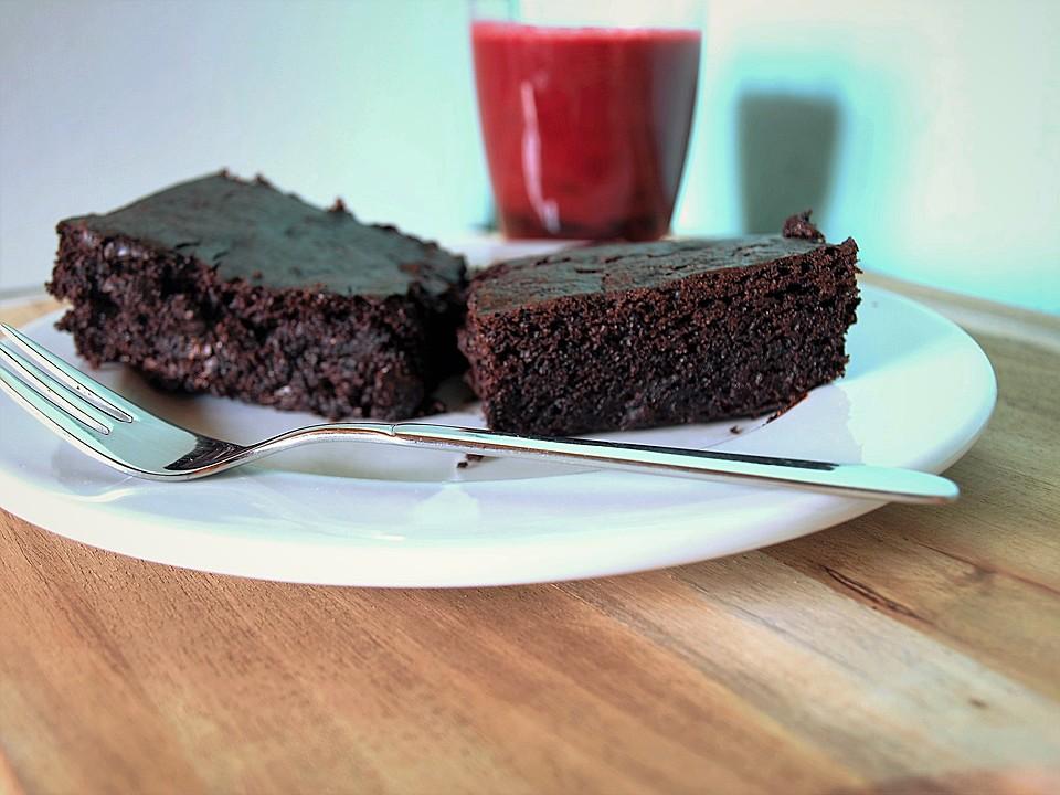 Vegane brownies Rezept...