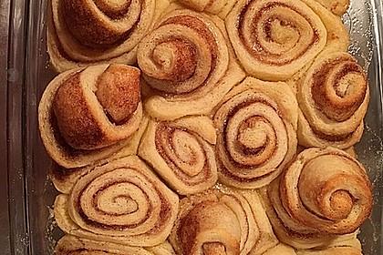 Zimtschnecken 'Cinnabon Style' 159