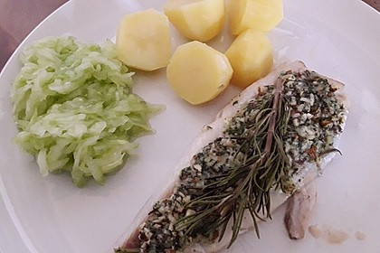 Lachs mit Parmesan-Kräuter-Walnuss-Kruste 38