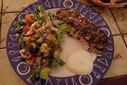 Lachs mit Parmesan-Kräuter-Walnuss-Kruste 25