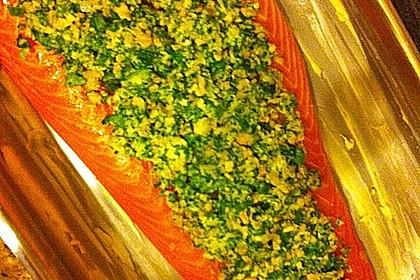 Lachs mit Parmesan-Kräuter-Walnuss-Kruste 43