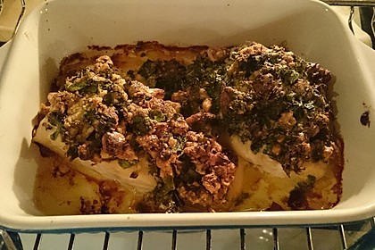 Lachs mit Parmesan-Kräuter-Walnuss-Kruste 52