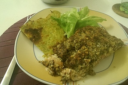 Lachs mit Parmesan-Kräuter-Walnuss-Kruste 47