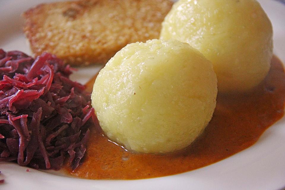 Kartoffelklöße Fränkische Art von Pferdefutter   Chefkoch.de