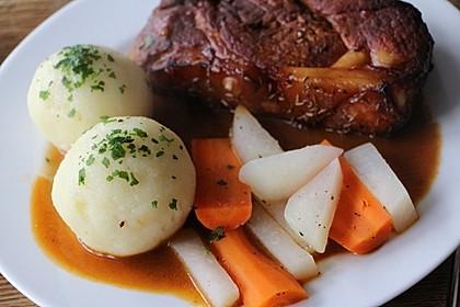 Kartoffelklöße Fränkische Art 4