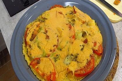 Polenta-Gemüse-Schnitten