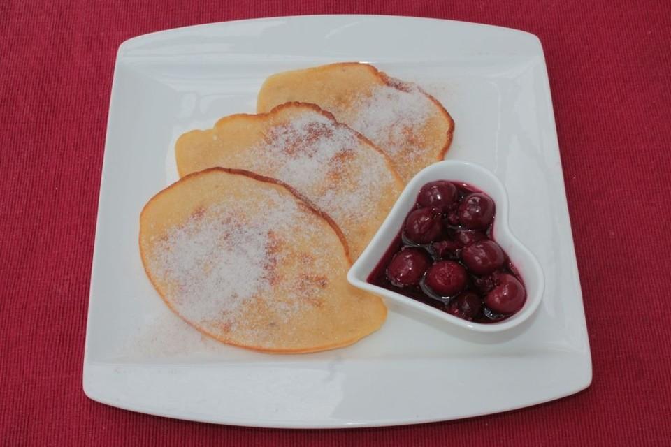 bananen pancakes rezept mit bild von annelalala. Black Bedroom Furniture Sets. Home Design Ideas