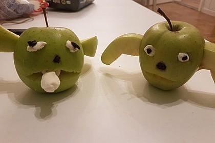 Apfel-Yoda 2