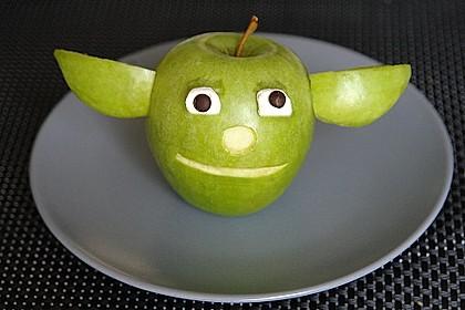 Apfel-Yoda