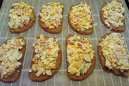 Pikantes überbackenes Brot 10