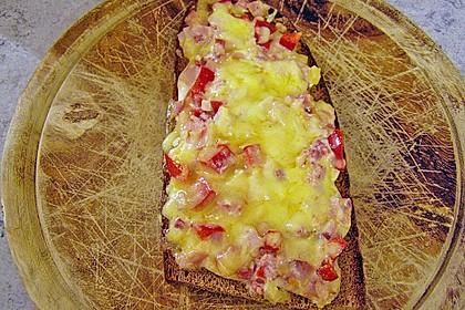 Pikantes überbackenes Brot 4