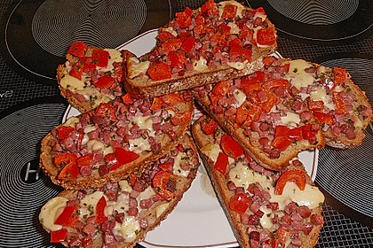 Pikantes überbackenes Brot 3