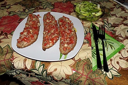 Pikantes überbackenes Brot 2