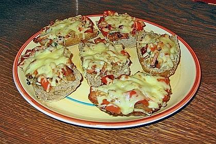 Pikantes überbackenes Brot 8