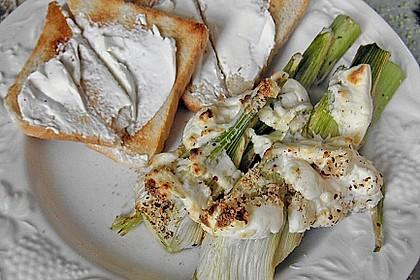 Überbackener Fenchel mit Frischkäsesoße 1