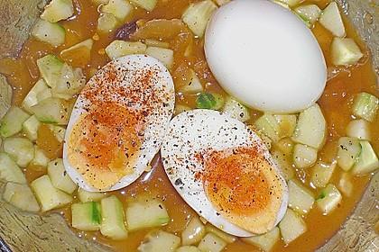 Eier mit Mango - Chutney