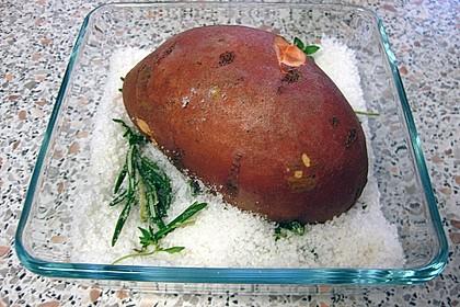 Ofen - Süßkartoffeln mit Ziegenkäse - Quark 20